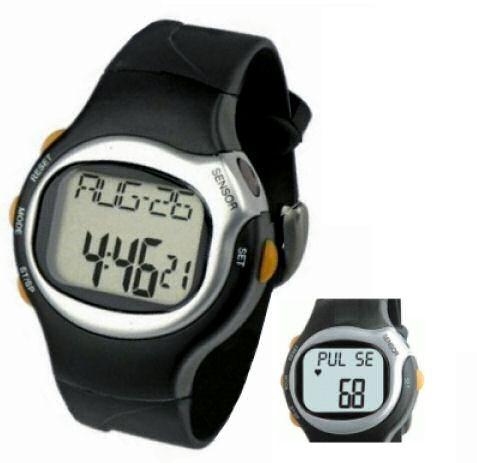 Hutermann Sporttester PW06 hodinky s měřením pulsu / tepu Pulse Watch , hodiny, stopky, budík, kalorie, tep / puls