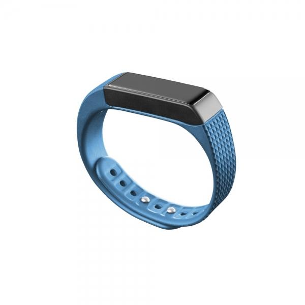 Bluetooth fitness náramek s dotykovým displejem CellularLine EASYFIT TOUCH, modro-černý - Modrý BTEASYFITTOUCHB