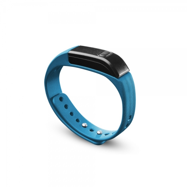 Bluetooth fitness náramek CellularLine EASYFIT - modrý BTEASYFITB