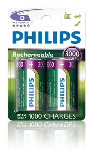 Nabíjecí baterie Philips MutiLife D (HR20) 3000 mAh (2 ks)