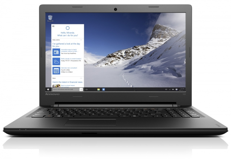 "IdeaPad 100 15,6""HD/i3-5005U/1TB/4G/NV/DVD/Win 10 80QQ007DCK"