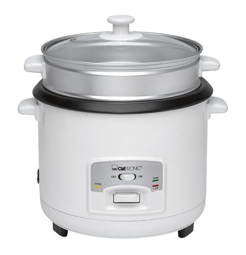 Rýžovar a parní hrnec Clatronic RK 3566 - bílý