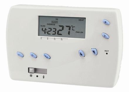 Programovatelný termostat Hutermann Euro Thermo 091-N/ F, týdenní pokojový prostorový