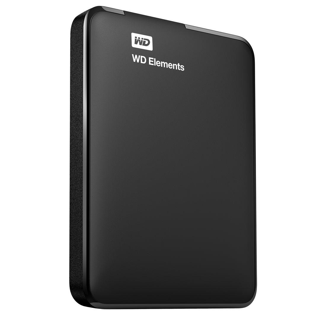 "Ext. HDD 2.5"" WD Elements Portable 2TB USB WDBU6Y0020BBK-EESN"