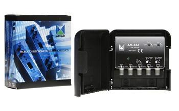 Alcad AM - 356 zesilovač / UHF1 / UHF2 / FM-DAB /
