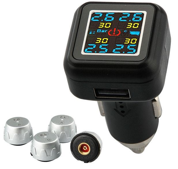Monitoring tlaku v pneumatikách sada TPMS-46e