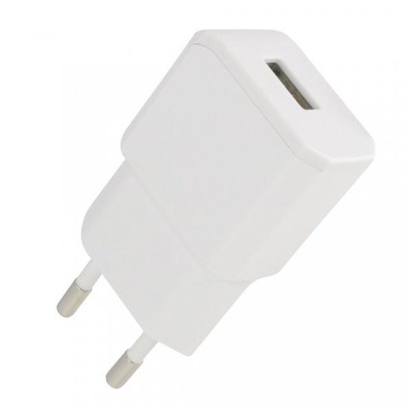 Cestovní nabíječka Fontastic NANO USB, 5V/2.1A - bílá 238109