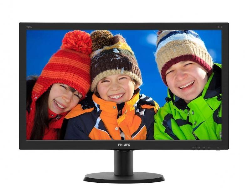"""Trhák 24"""" LED Philips 240V5QDAB - FHD,IPS,HDMI,rep 240V5QDAB/00"""