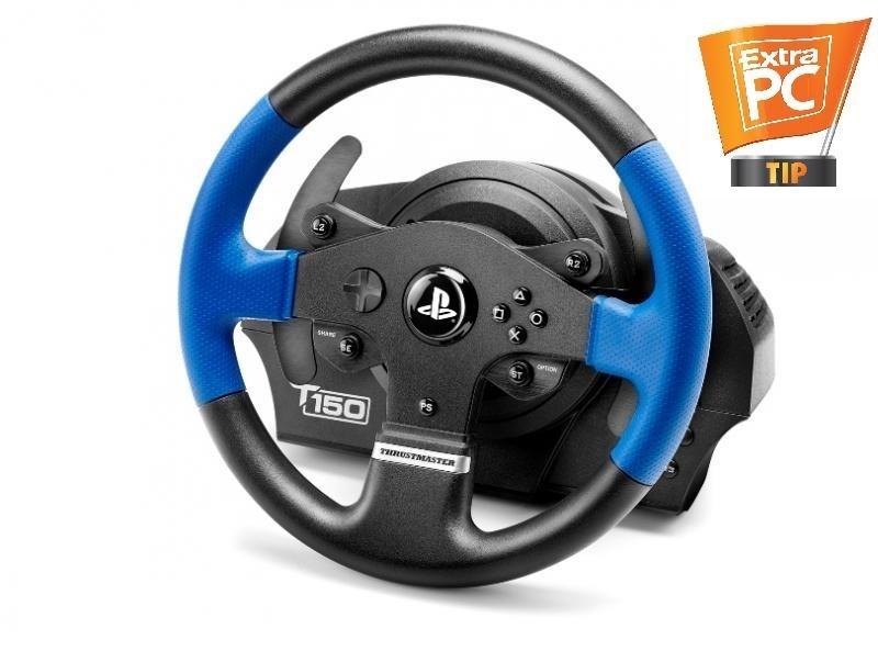 Thrustmaster Sada volantu a pedálů T150 pro PS4, PS4 PRO, PS3 a PC (4160628) 4160628