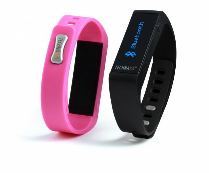 Fitness náramek Technaxx CLASSIC, OLED, Bluetooth 4.0, Android/iOS, černý (TX-37) - černý 4444