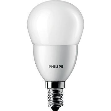 LED žárovka Philips CorePro LEDluster, 5,5 W, E14, teplá bílá