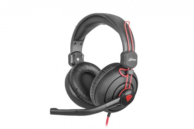 Multiplatformní stereo sluchátka Natec Genesis H70 NSL-0735