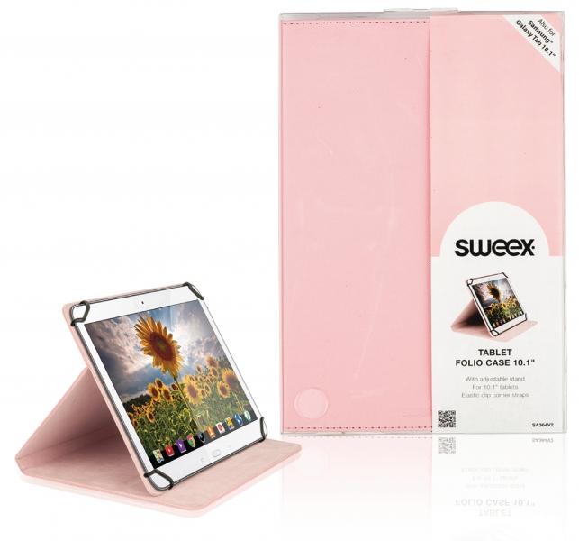 """Pouzdro na tablet 10.1"""" - růžové"""