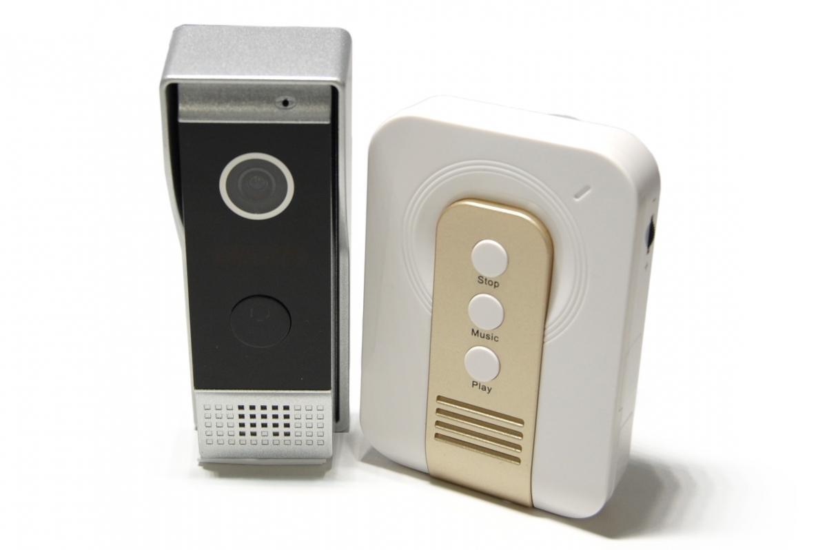 Mobilní domovní videotelefon DOORBELL 97243W-CP+92601-P