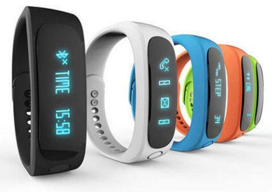 Fitness náramek FT02, OLED, Android+iOS