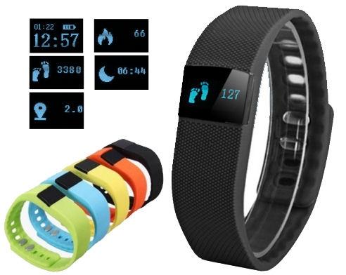 Fitness náramek FT64, OLED, Android+iOS