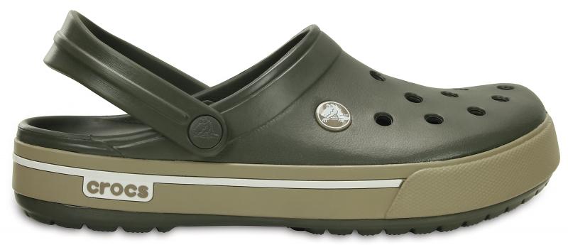Crocs Crocband II.5 - Dusty Olive/Khaki, M9/W11 (42-43)