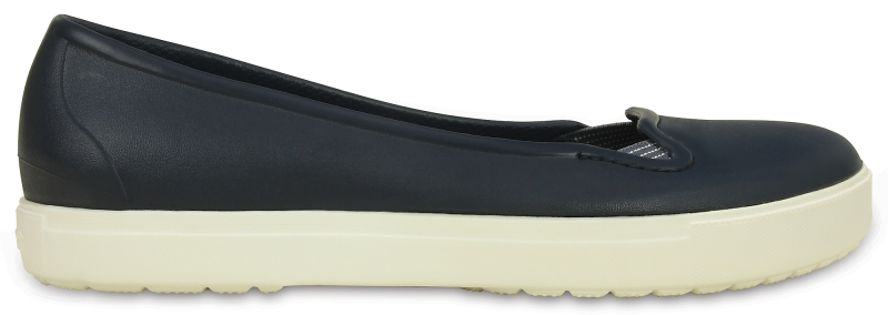 Crocs CitiLane Flat - Navy/White, W9 (39-40)