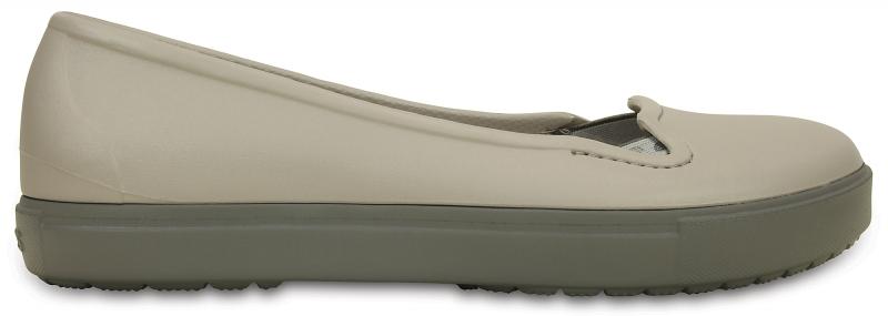 Crocs CitiLane Flat - Platinum, W7 (37-38)
