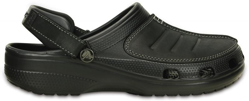 Crocs Yukon Mesa Clog - Black, M9/W11 (42-43)