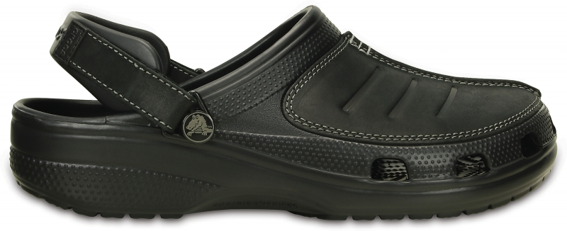 Crocs Yukon Mesa Clog - Black, M12 (46-47)