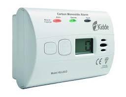Detektor CO Kidde 10LLDCO s displejem LCD a vestavěnou baterií