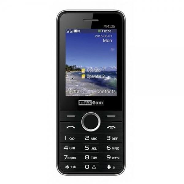 Mobilní telefon Maxcom MM136, DualSIM, - černý MM136 black