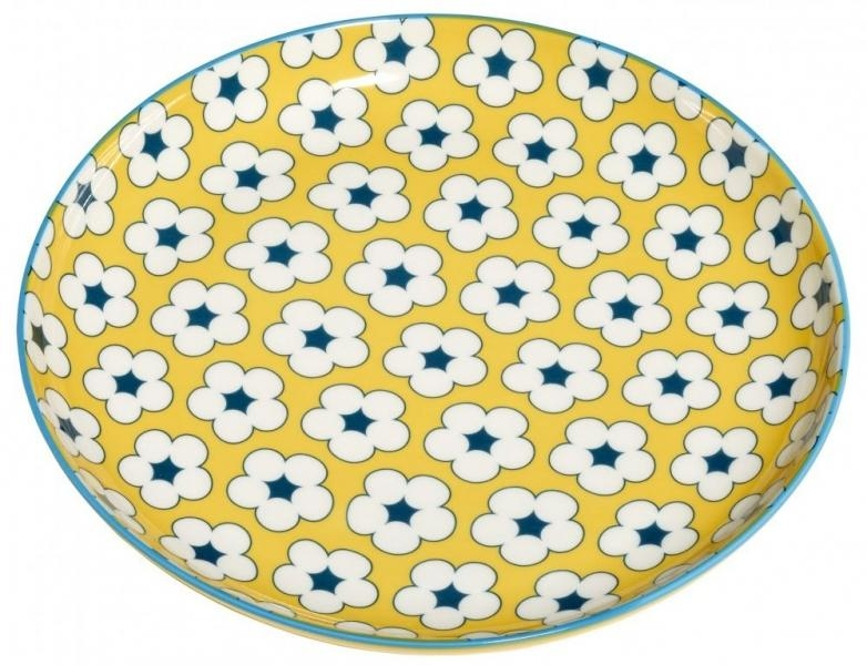 Maxwell & Williams dezertní talíř Cotton Bud, 18.5cm - Žlutý