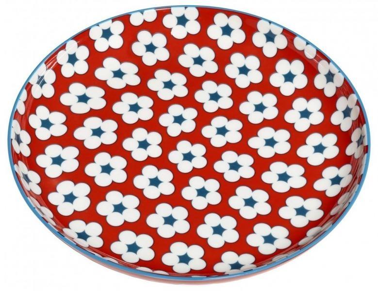 Maxwell & Williams dezertní talíř Cotton Bud, 18.5cm - Červený