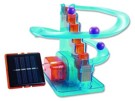 Solární stavebnice horská dráha