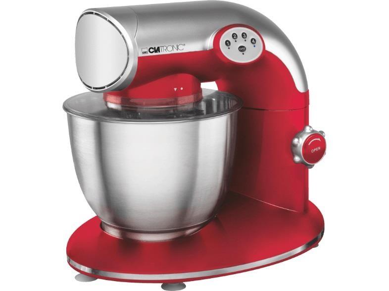Kuchyňský robot Clatronic KM 3632, 1200 W - čevený