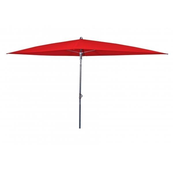 Zahradní slunečník Doppler SUNLINE WATERPROOF III 230x190 Červená