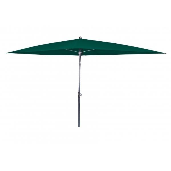 Zahradní slunečník Doppler SUNLINE WATERPROOF III 230x190 - Tmavě zelená