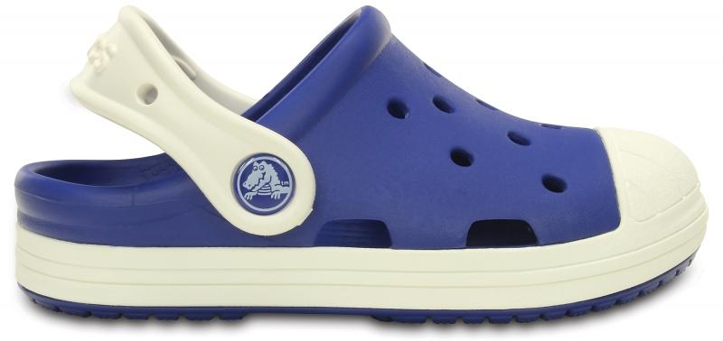 Crocs Bump It Clog Kids - Cerulean Blue/Oyster, C10 (27-28)