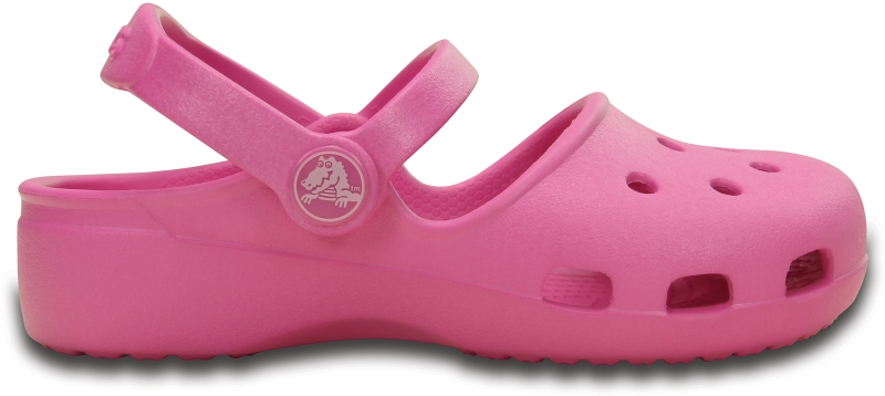 Crocs Karin Clog Girl - Party Pink, C10 (27-28)