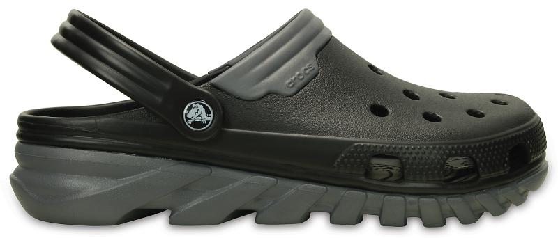 Crocs Duet Max Clog - Black/Charcoal, M9/W11 (42-43)