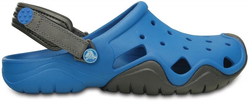 Crocs Swiftwater Clog - Ultramarine/Graphite, M7/W9 (39-40)