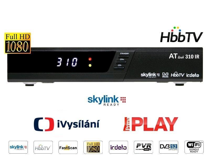 ATlink 310 IR HbbTV, Skylink Ready