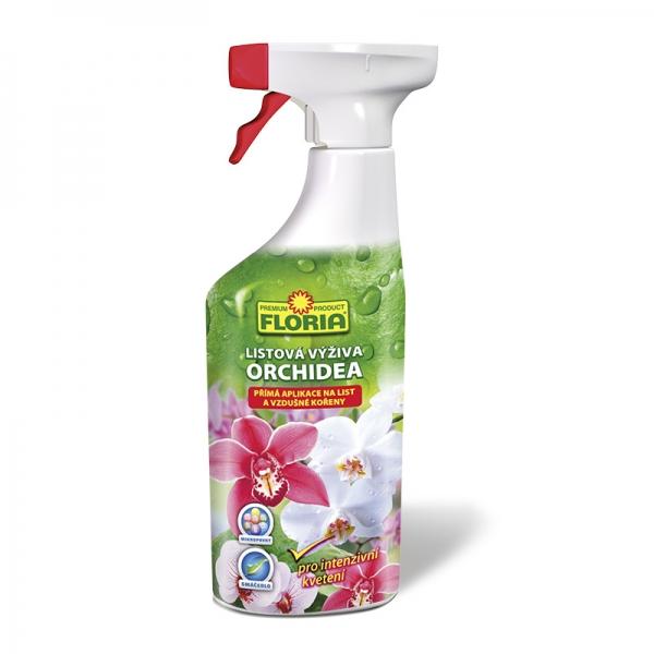 Hnojivo Agro FLORIA Listová výživa pro orchideje 500 ml