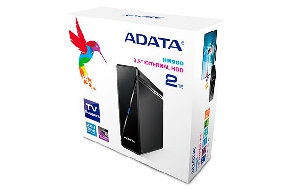 "ADATA HM900 2TB External 3.5"" HDD AHM900-2TU3-CEUBK"