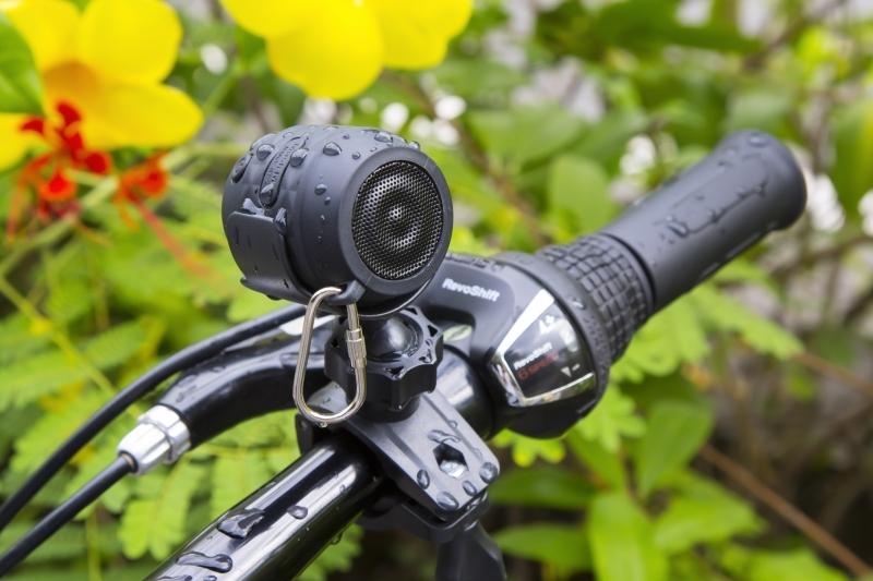 Přenosný Bluetooth reproduktor NANO BIKE Technaxx MusicMan, 300 mAh, voděodolný, (BT-X19) - Černý 4602