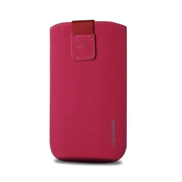 Univerzální pouzdro FIXED Velvet, mikroplyš, fialové, velikost XL RPVEL-039-XL