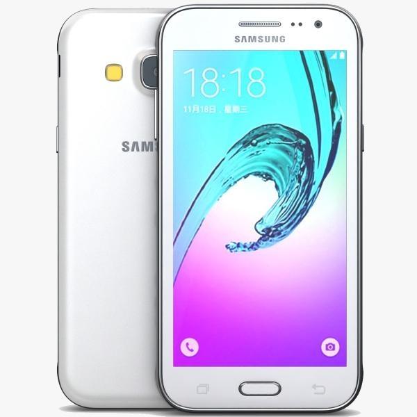 Samsung Galaxy J3, White, Dual Sim (SM-J320FZWDETL) - bílý SM-J320FZWDETL