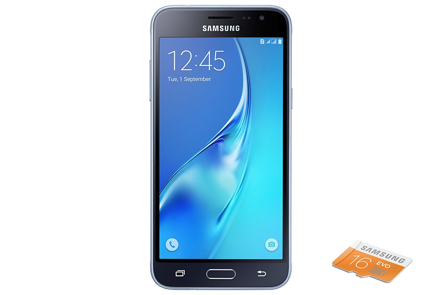 Samsung Galaxy J3 (2016) Dual SIM - černý SM-J320FZKDETL