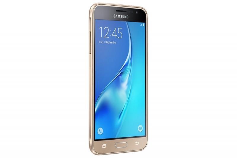 Samsung Galaxy J3, Gold, Dual Sim (SM-J320FZDDETL) - zlatý SM-J320FZDDETL