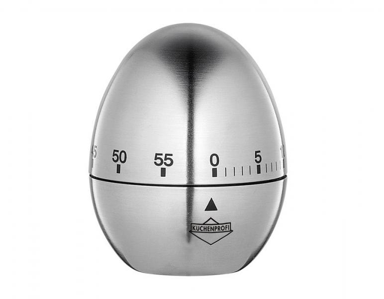 Küchenprofi kuchyňská minutka Egg, nerez