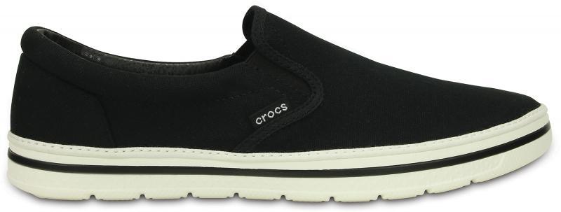 Crocs Norlin Slip-on - Black/White, M9 (42-43)