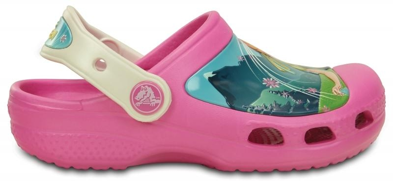 Crocs Creative Frozen Fever Clog - Party Pink/Oyster, C6/C7 (23-24)