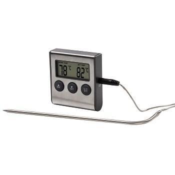 Xavax digitální teploměr na potraviny/nápoje, s časovačem, senzor na kabelu