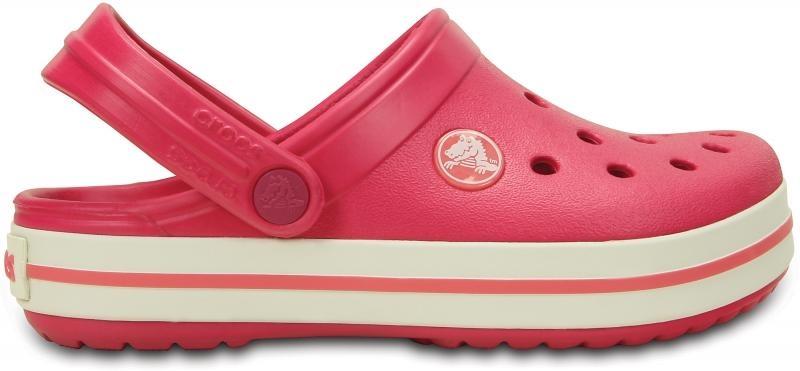 Crocs Crocband Kids - Raspberry/White, C12/C13 (29-31)